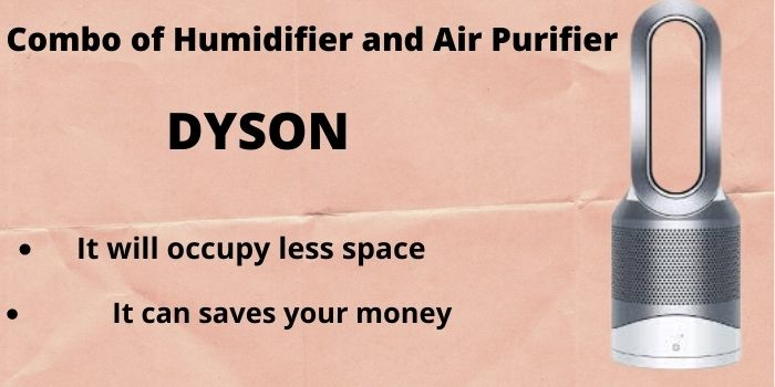 Combo of humidifier and air purifier