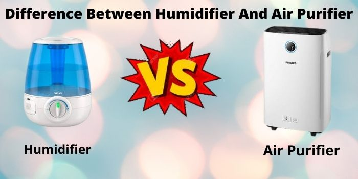difference between humidifier and air purifier
